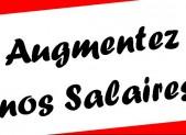« Augmentez nos salaires ! » – Journal des Employés et Cadres 01-2016